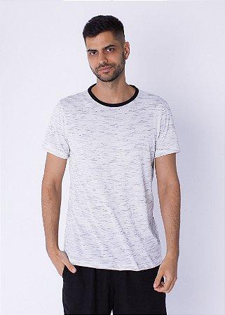 Camiseta Mescla Cinza