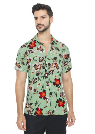 Camisa Viscose Palmares
