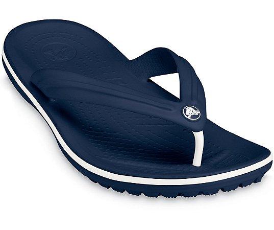 Chinelo Crocs Crocband™ Flip Azul Marinho