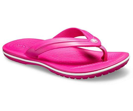 Chinelo Crocs Infantil Crocband™ Flip Candy Pink