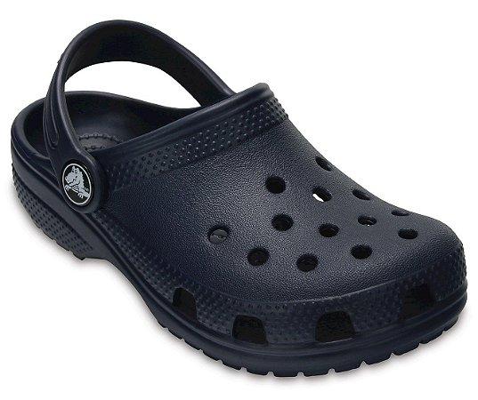 Sandália Crocs Infantil Classic - Navy