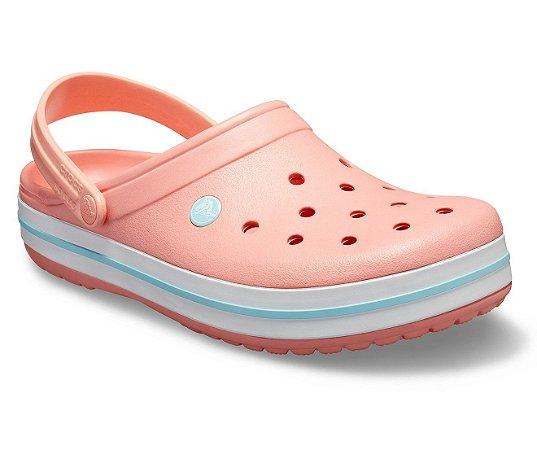 Sandália Crocs Crocband™ Clog - Melon/Ice Blue
