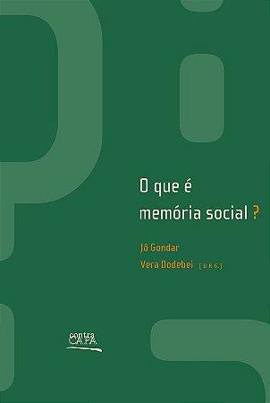 """<span class=""""bn"""">Que é memória social?, O</span><span class=""""as"""">Jô Gondar <br>Vera Dodebei [org.]</span>"""