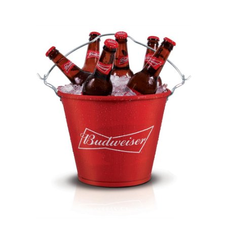 Balde cerveja Budweiser