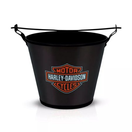 Balde Harley Davidson Preto
