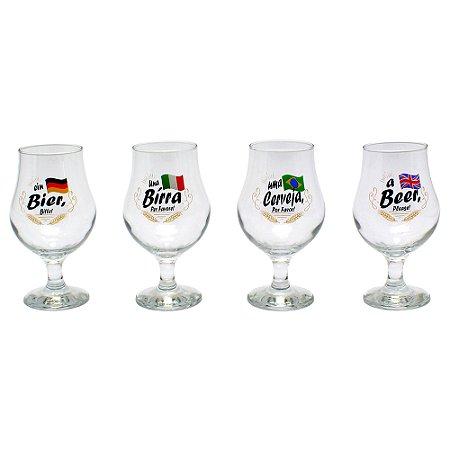 Conjunto 4 copos Dublin Beer Please