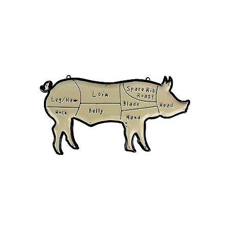 Placa decorativa PIG