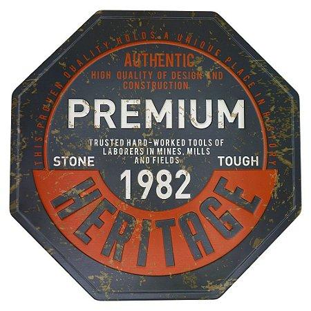 Placa decorativa Premium