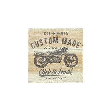 Tela Wooden Style Old School Bike bege