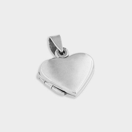 Pingente relicário Amor em Prata 925