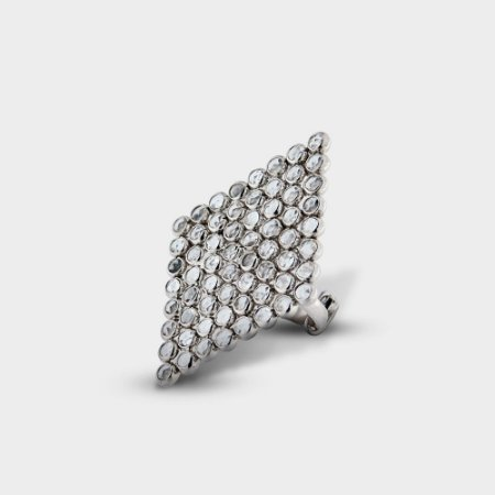 Anel Losango e Pedras de Cristal - 11