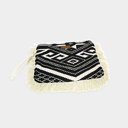 bolsa de mão bordado indiano