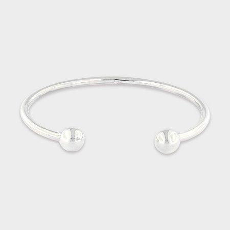 Bracelete Bolinhas Prata 925