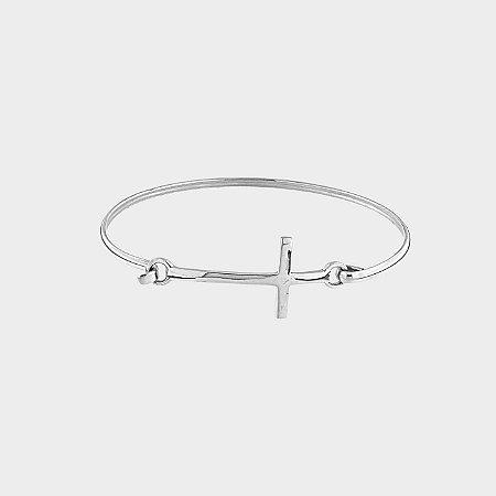 Bracelete Místico Cruz Prata 925