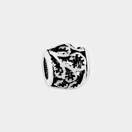 Charm Vazado Prata 925