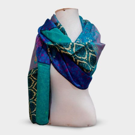 Pashmina G Patchwork Indiano