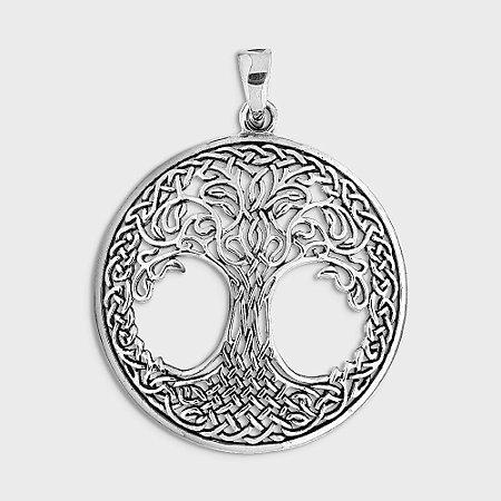 Pingente Místico Árvore da Vida Prata 925