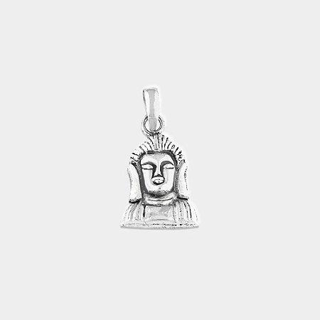 Pingente Místico Buda Prata 925