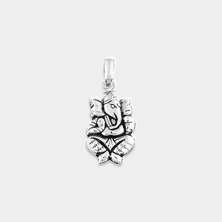 Pingente Místico Ganesha Prata 925