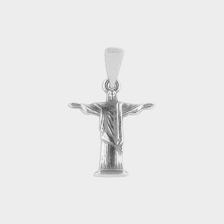 Pingente Cristo Redentor em Prata 925