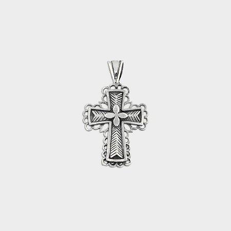 Cruz Trabalhada em Prata 925