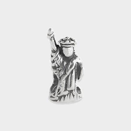 Charm Estátua da Liberdade em Prata 925