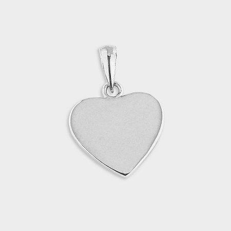 Pingente Coração em Prata 925