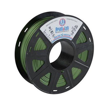 PLA Metal Verde Militar 1.75 mm