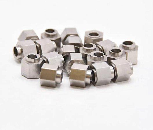 Porca excêntrica em Aluminio