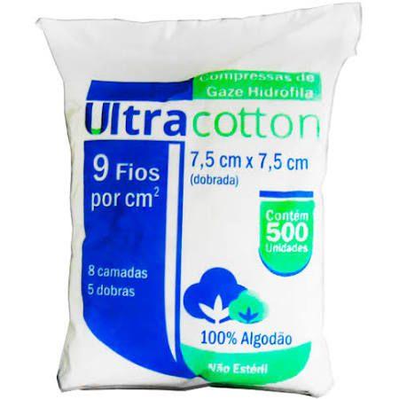 GAZE ULTRACOTTON 09 FIOS C/500