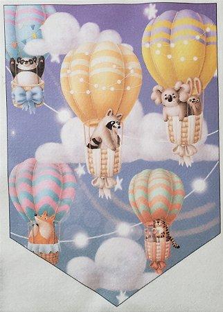 Flamula Balões Bichinhos