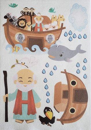 Kit Historinha Bíblica - A arca de Noé