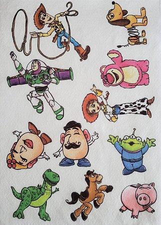 Kit historinha Toy Story