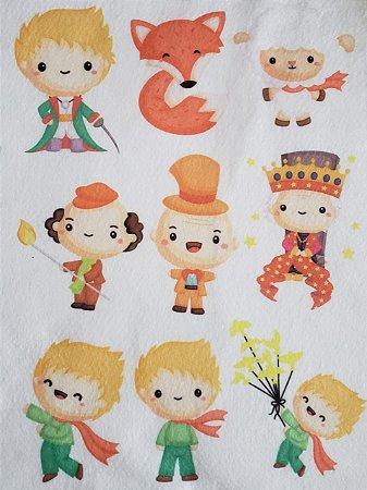 Kit historinha Pequeno Principe