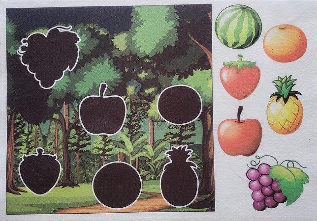 Livro - Sombras - Frutas