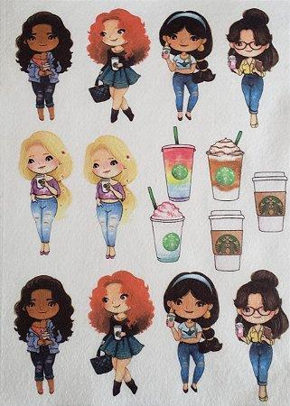 Princesas e Café