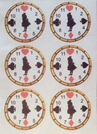 Relógio Alice