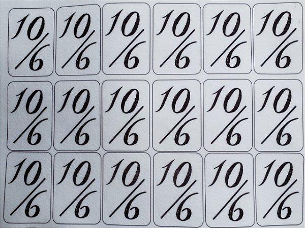 Carta Chapeleiro Maluco- Alice 6,5cm