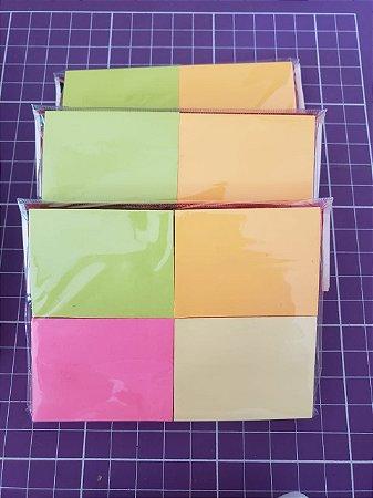 Bloco p/ recado 38x50 (4 blocos com 100 folhas)