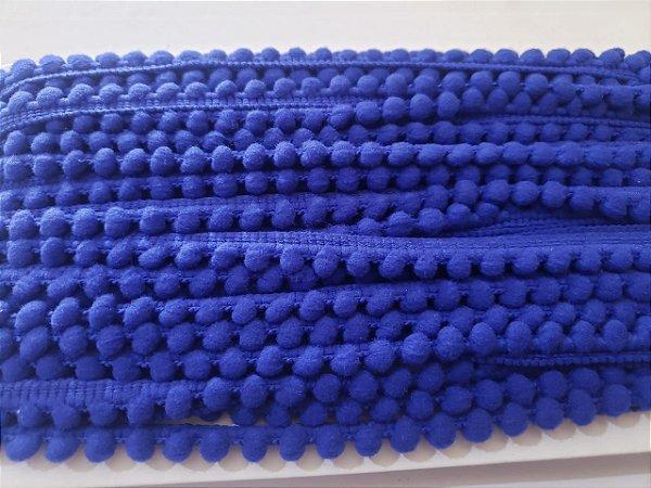FIta pompom 6mm mini Azul Royal
