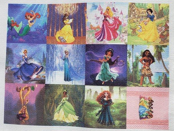 Princesas Bala Chaveiro