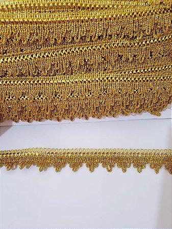 Passamanaria - Galão dourado 2,5cm