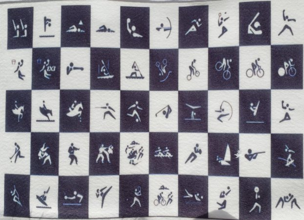 Pictograma das Modalidades -Olimpíadas Tokio