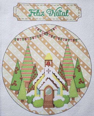 Enfeite de Porta Feliz Natal 6