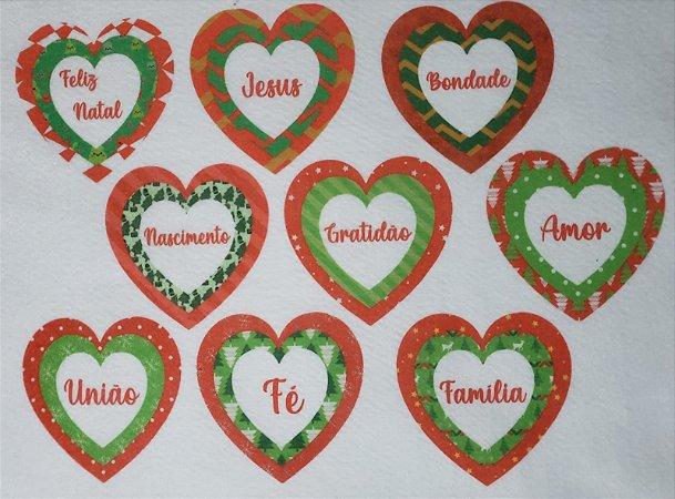 Coração Triplo de Natal 4