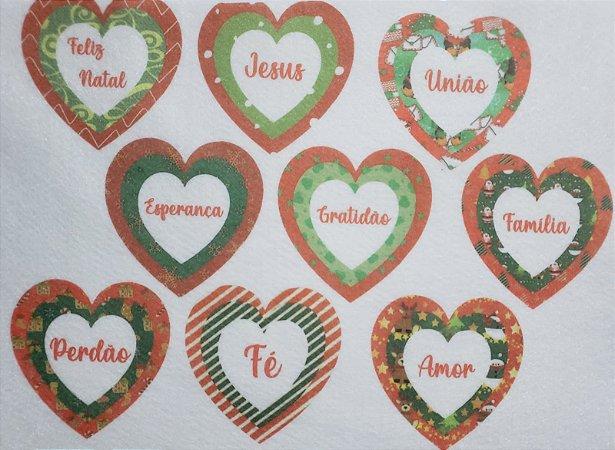 Coração Triplo de Natal 11