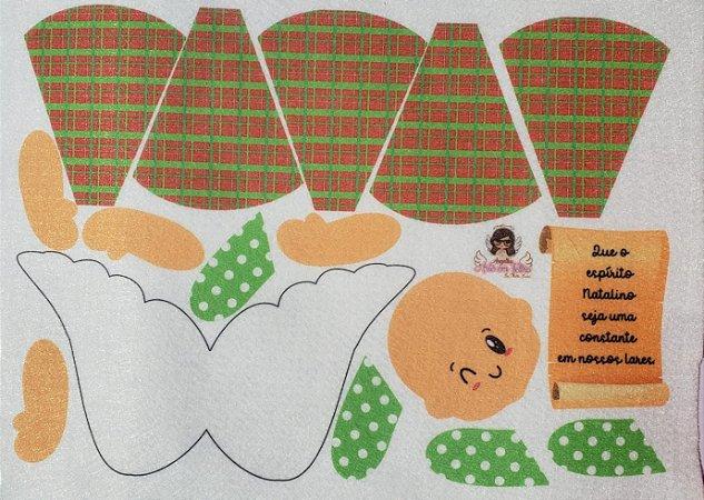 Anjinhos das Emoções Natalino - Que o espirito Natalino