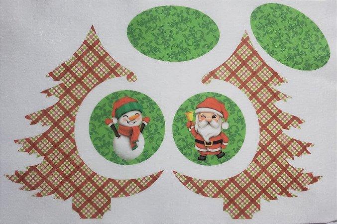 Pinheiro de Natal de Mesa com Bolinhas 1