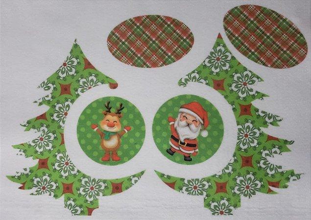 Pinheiro de Natal de Mesa com Bolinhas 3