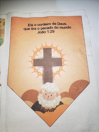 Flamula Eis o Cordeiro de Deus
